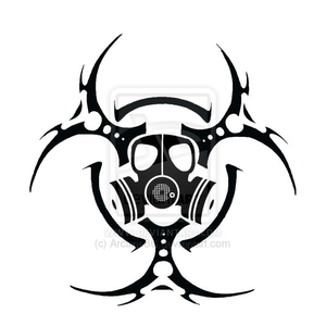 Gas Mask clipart biohazard Hazard at vector com Images