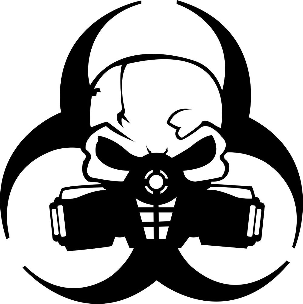 Mask clipart biohazard Free Biohazard Drawing Art Download
