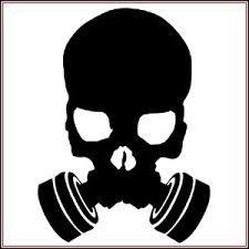 Gas Mask clipart biohazard Skull Google SkullS tumblr Pesquisa