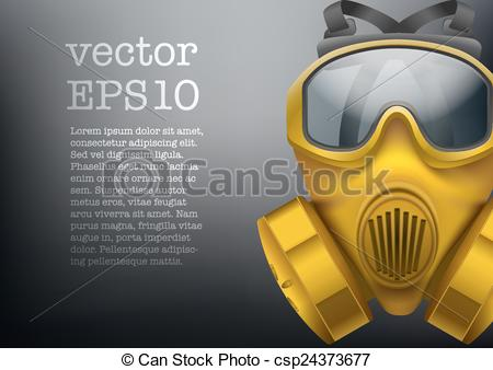 Gas Mask clipart chemical Of Vector gas  antiviral