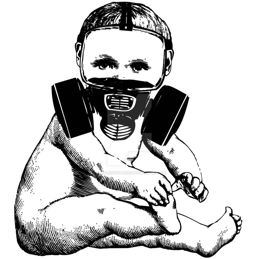 Gas Mask clipart drawn Gas  Mask on ApoplecticPress