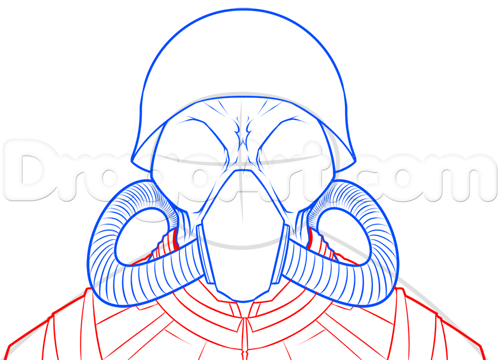 Gas Mask clipart drawn Lesson nwo Step Other Step