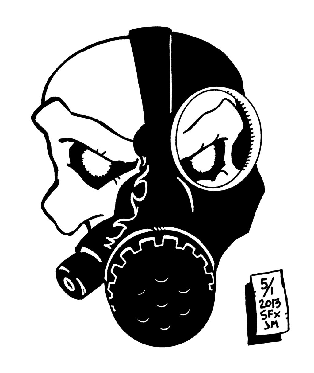Gas Mask clipart drawn Tips Cool image Cool Mask