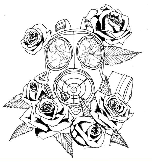 Gas Mask clipart drawn How mask I toxic ideas