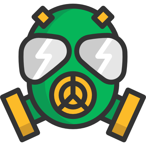 Gas Mask clipart hazard Mask Gas miscellaneous icon Weapon
