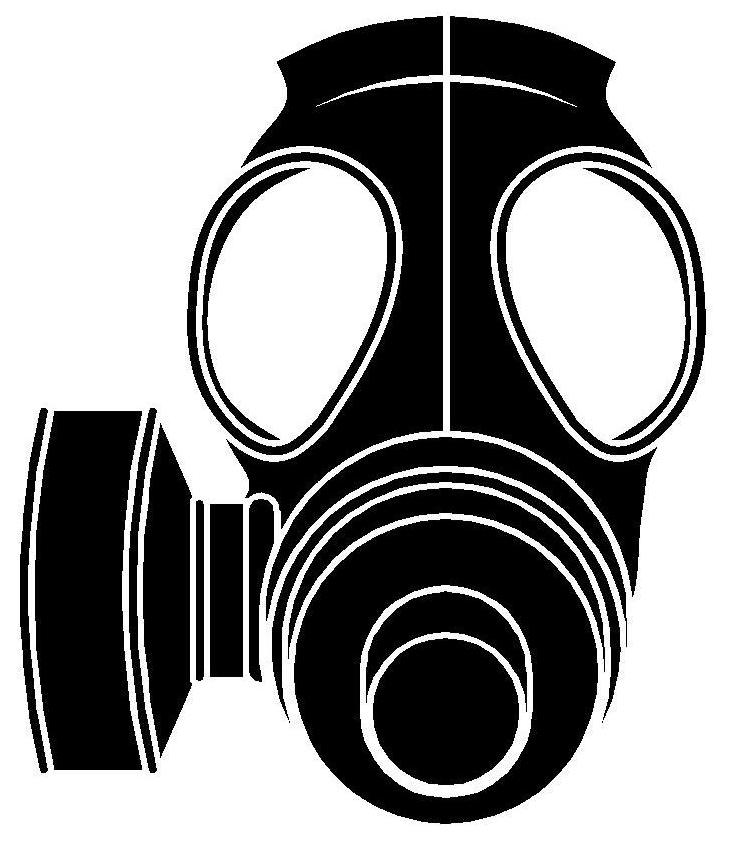 Gas Mask clipart hazmat Vectors mask hazmat Cliparts Hazmat