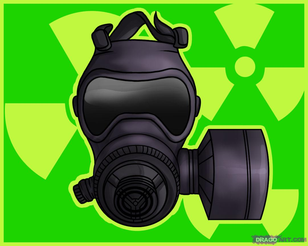 Gas Mask clipart hazmat Weapons  to draw to