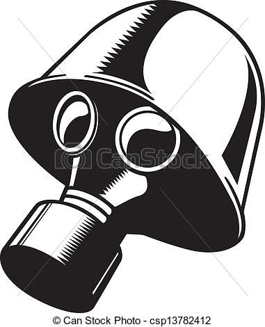 Gas Mask clipart hazmat Stock EPS Gas Gas 900