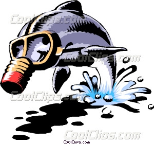 Gas Mask clipart mac Dolphin mask gas Dolphin with