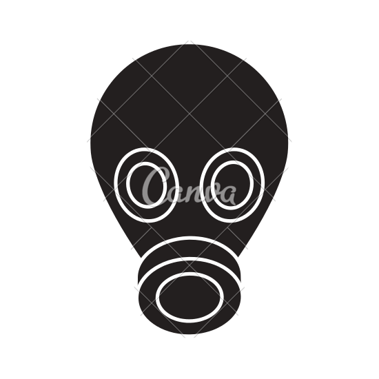 Gas Mask clipart mac Mask Gas Icons Gas Mask