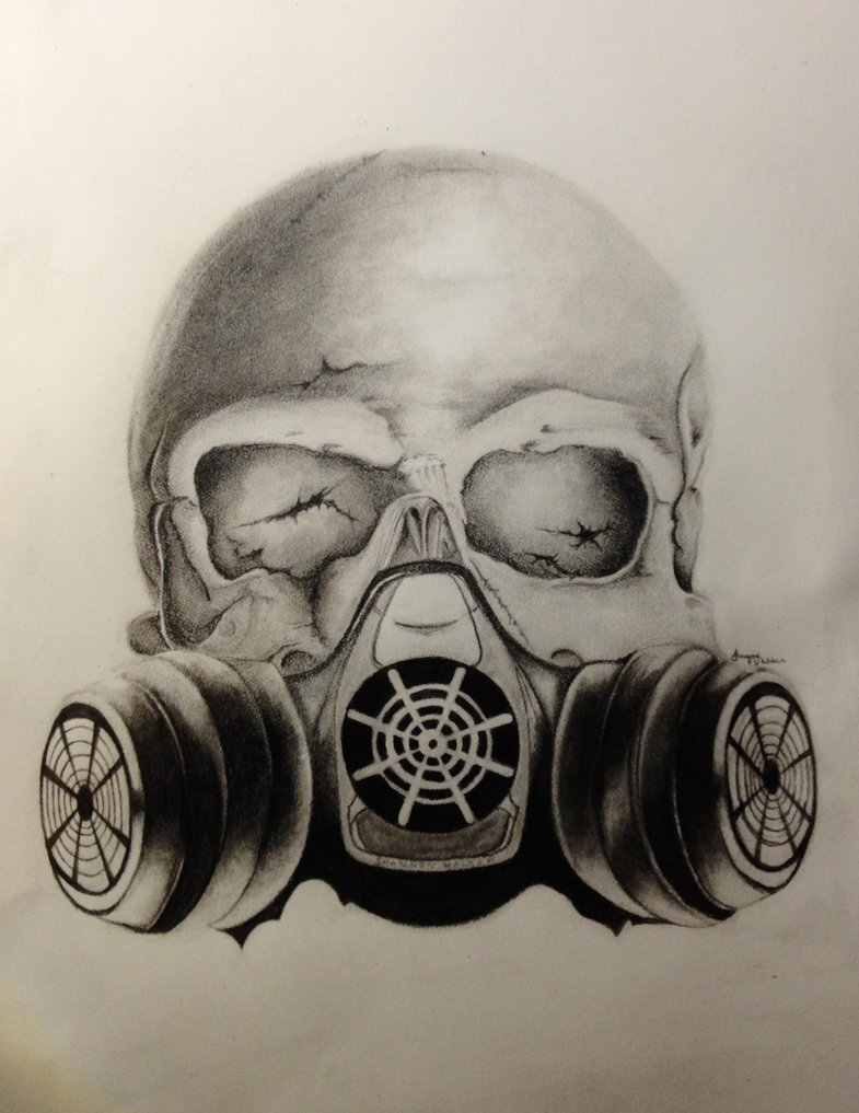 Drawn masks Skull Gas Images … For