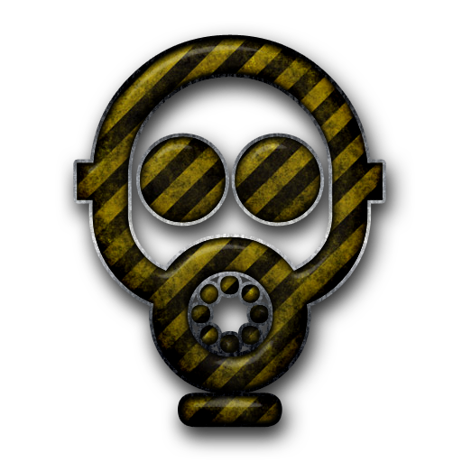 Gas Mask clipart neon gas #096647 Icons (Masks) Gas »