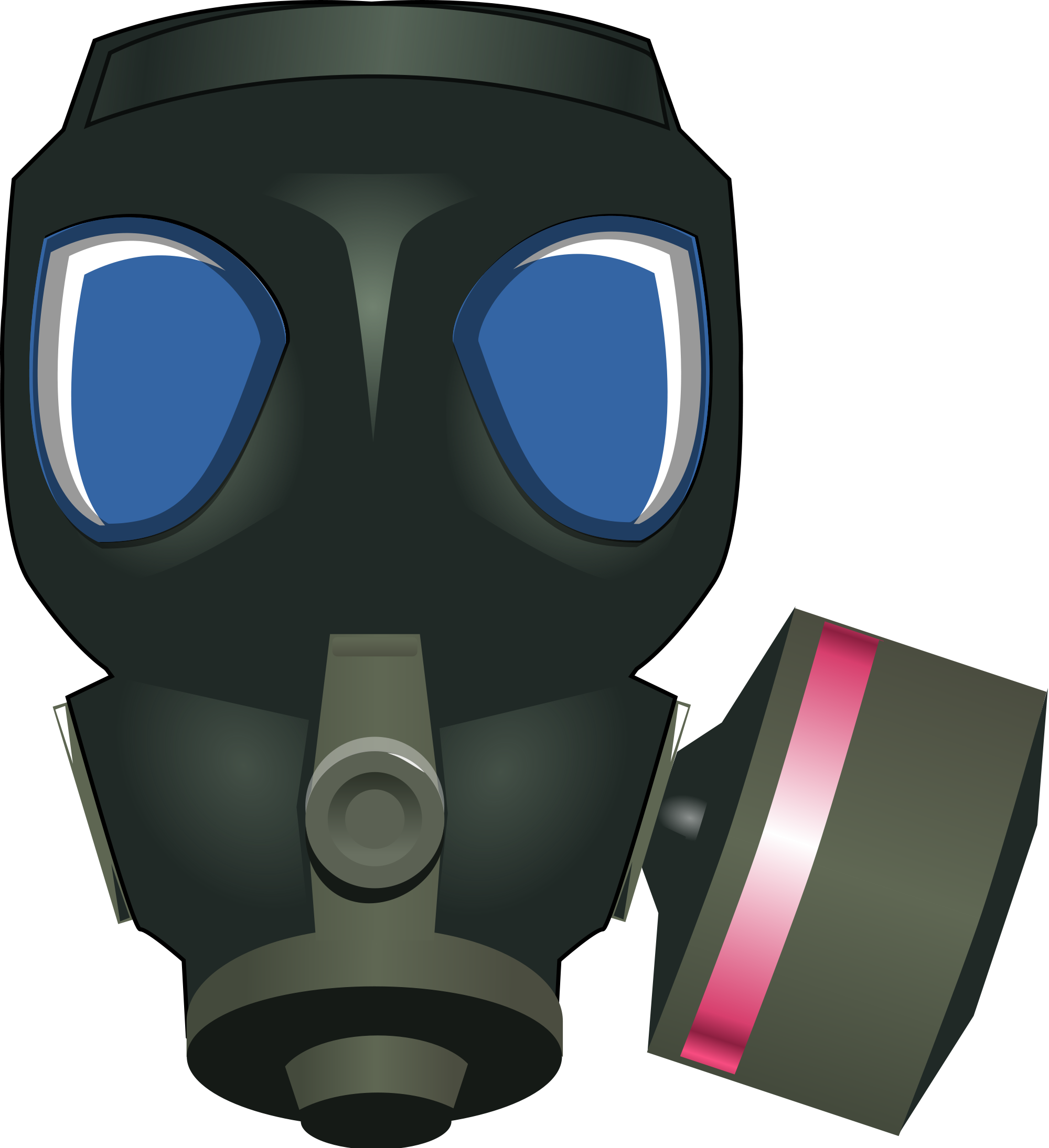 Gas Mask clipart radioactive Wikimedia Commons File:Gas svg mask