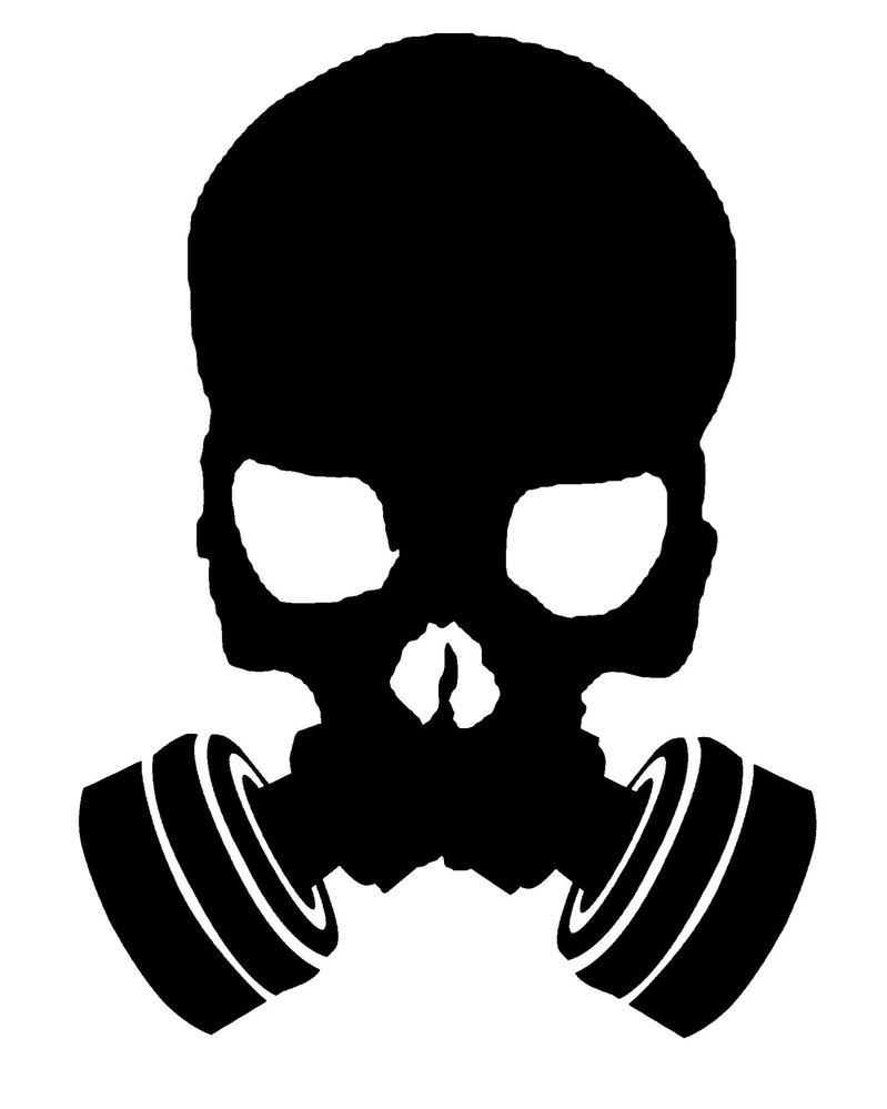 Gas Mask clipart silhouette Art Endurance Free Clipart Training