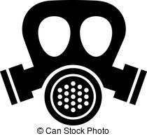 Gas Mask clipart simple Clipartby mask  Illustrations Gas