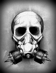 Gas Mask clipart skeleton Mask tattoo mask and Skull