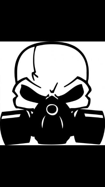 Gas Mask clipart skeleton Skulls  more Skull on