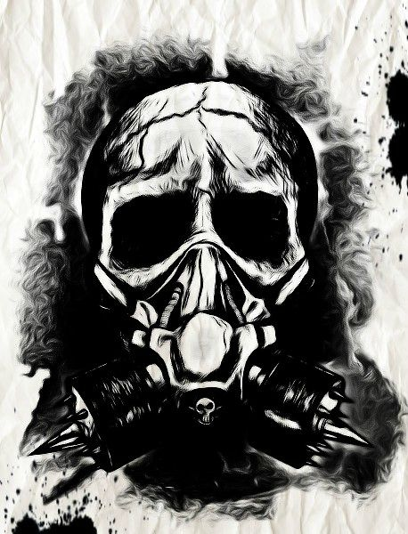 Gas Mask clipart skeleton Mask Mask Gas and Mask