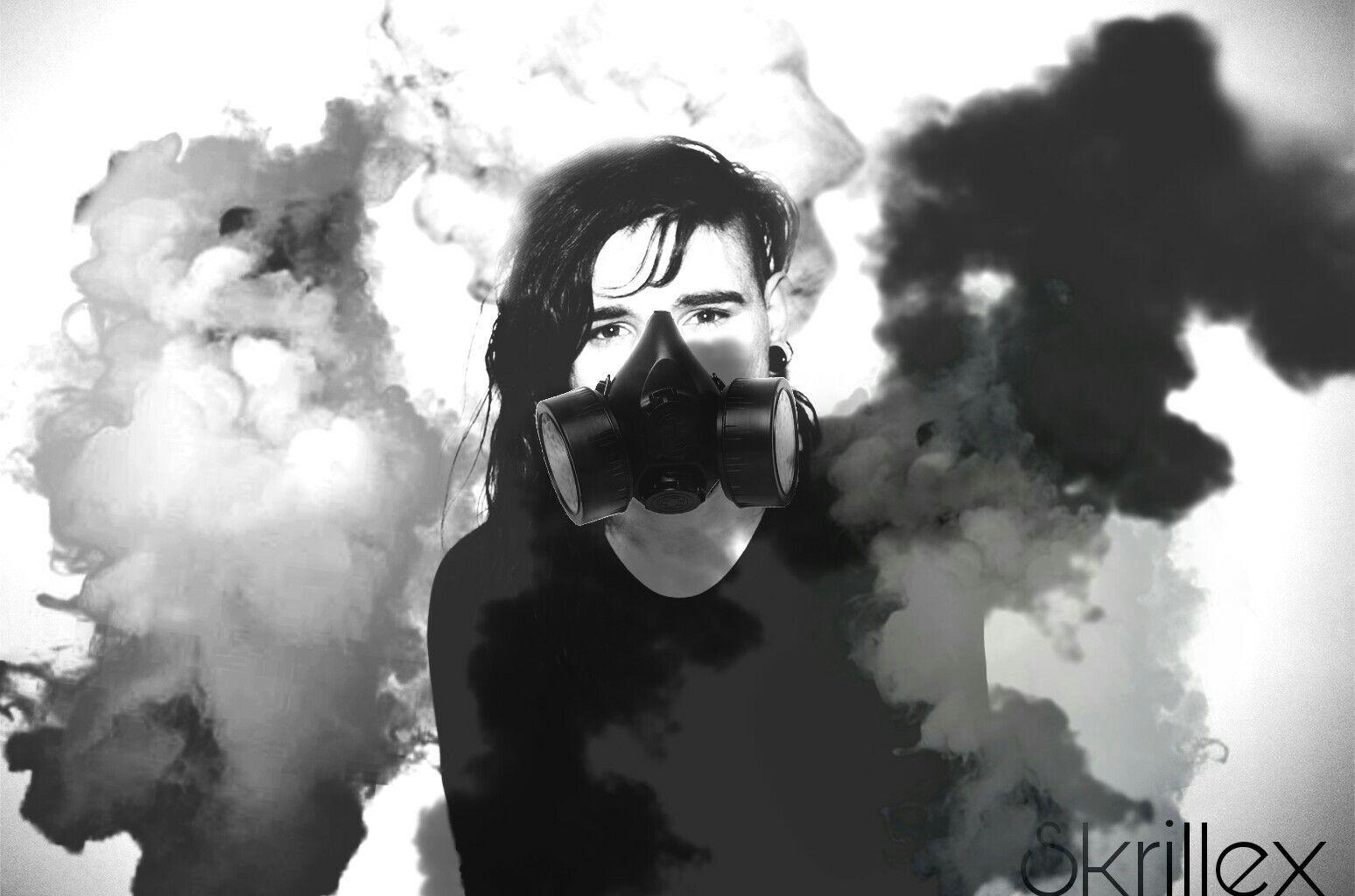 Gas Mask clipart skrillex Image skrillex smoke by FreeToEdit