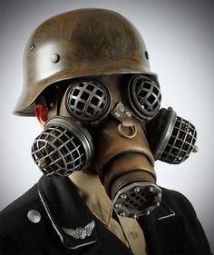 Gas Mask clipart skrillex BlazingVault Wearing Gas Wall by