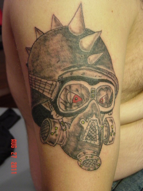 Gas Mask clipart skull head Picture Cool with gasmask CheckoutMyInk