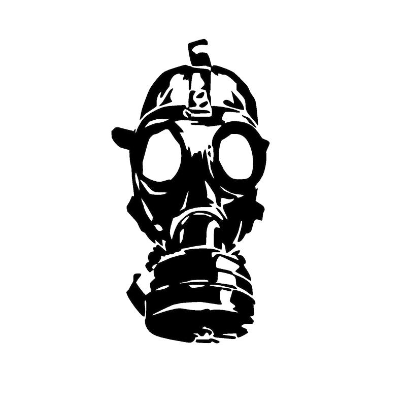 Gas Mask clipart sticker Mask sticker gas WALL WINDOW