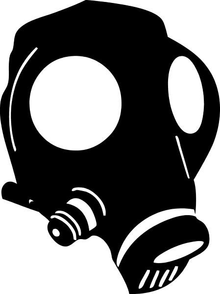 Gas Mask clipart sticker Sticker / BAD / Gas