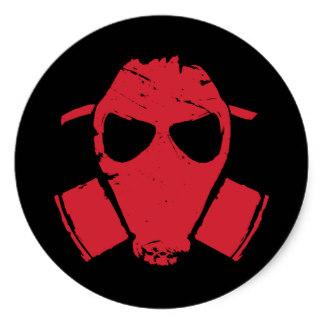 Gas Mask clipart sticker Sticker round Stickers mask Gas
