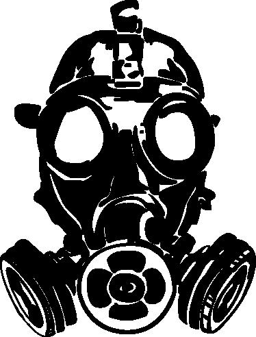 Gas Mask clipart sticker TenStickers sticker sticker mask Gas