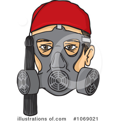 Gas Mask clipart vector Stock Clipart Royalty Any Any