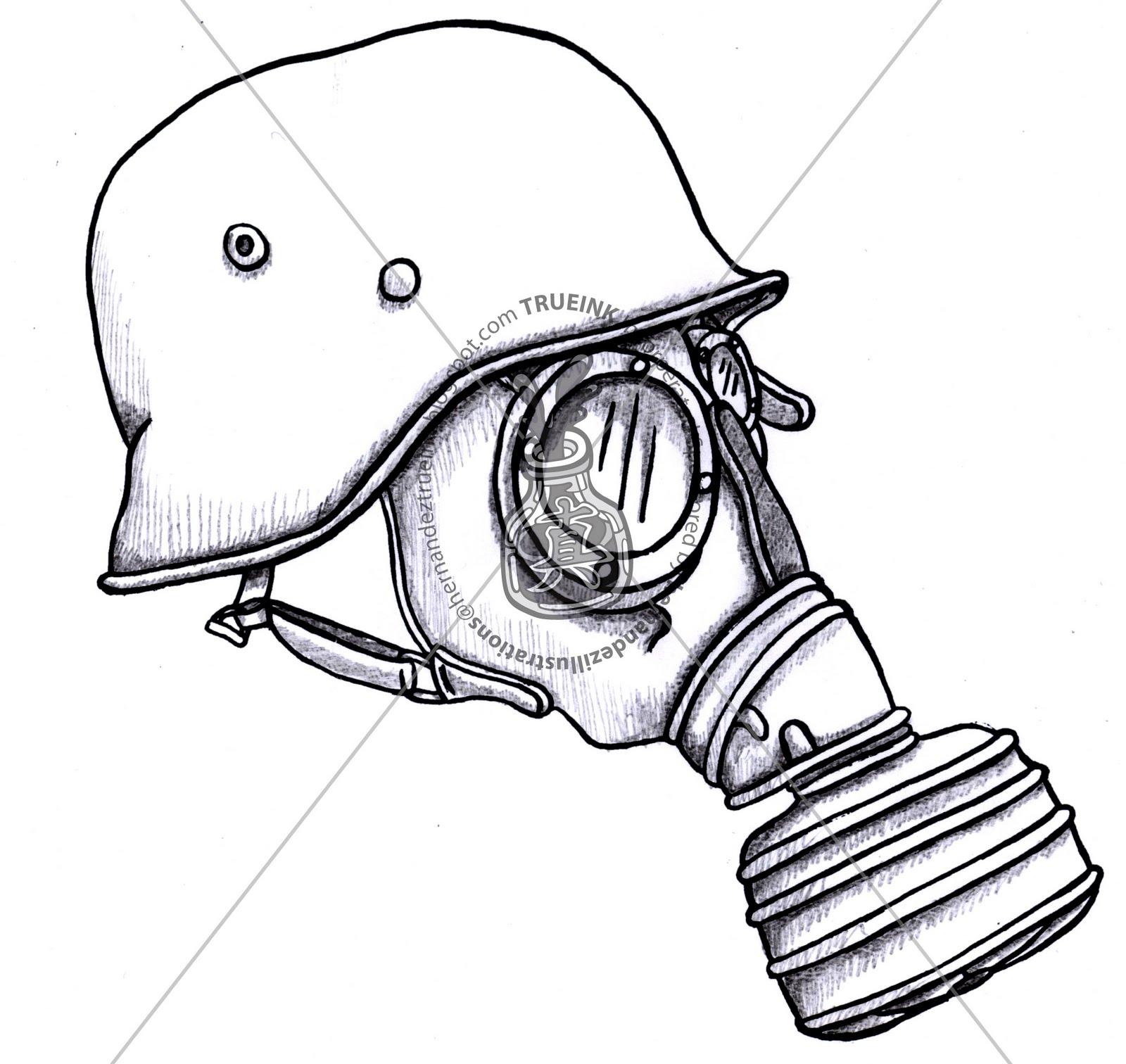 Gas Mask clipart ww1 Mitsubishi Mask all Easy Skull
