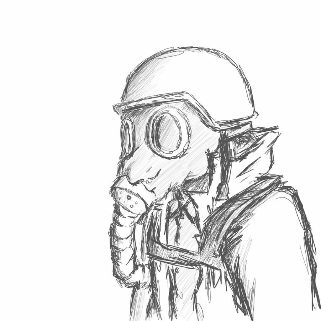 Gas Mask clipart ww1 Kid Gas Gas Mask Clipart