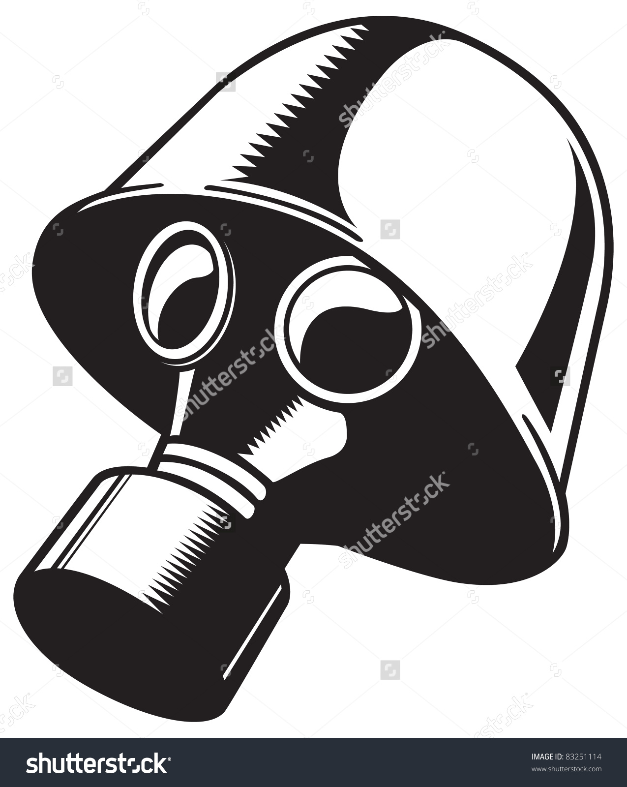 Gas Mask clipart ww1 Glycerin on as mask Name