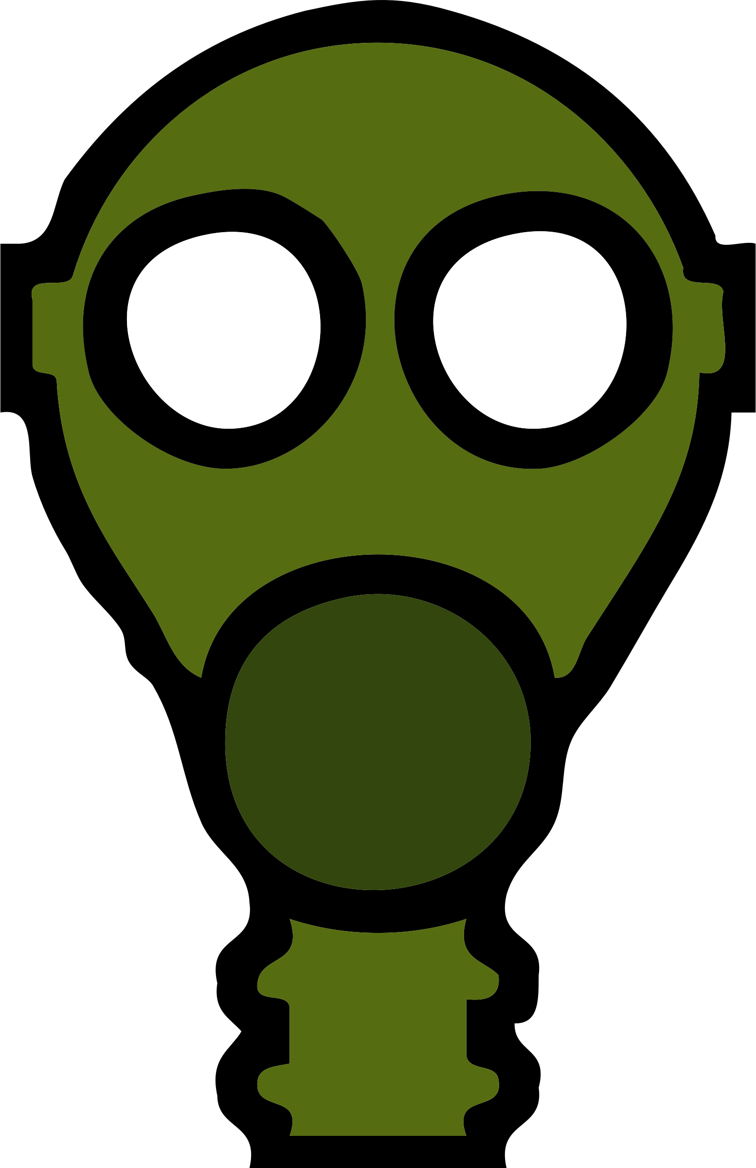 Gas Mask clipart ww1 Mask gas gas mask Clipart