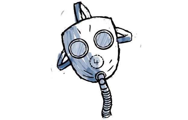 Gas Mask clipart ww1 Mask LxO7U9 source gas mask