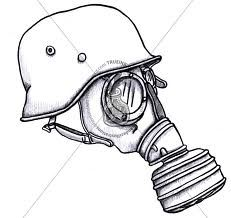 Gas Mask clipart ww2 Mascaras masks  Google de