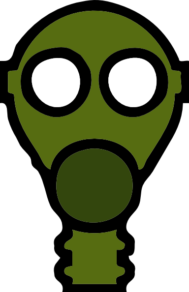 Gas Mask clipart ww2 Art image online clip at