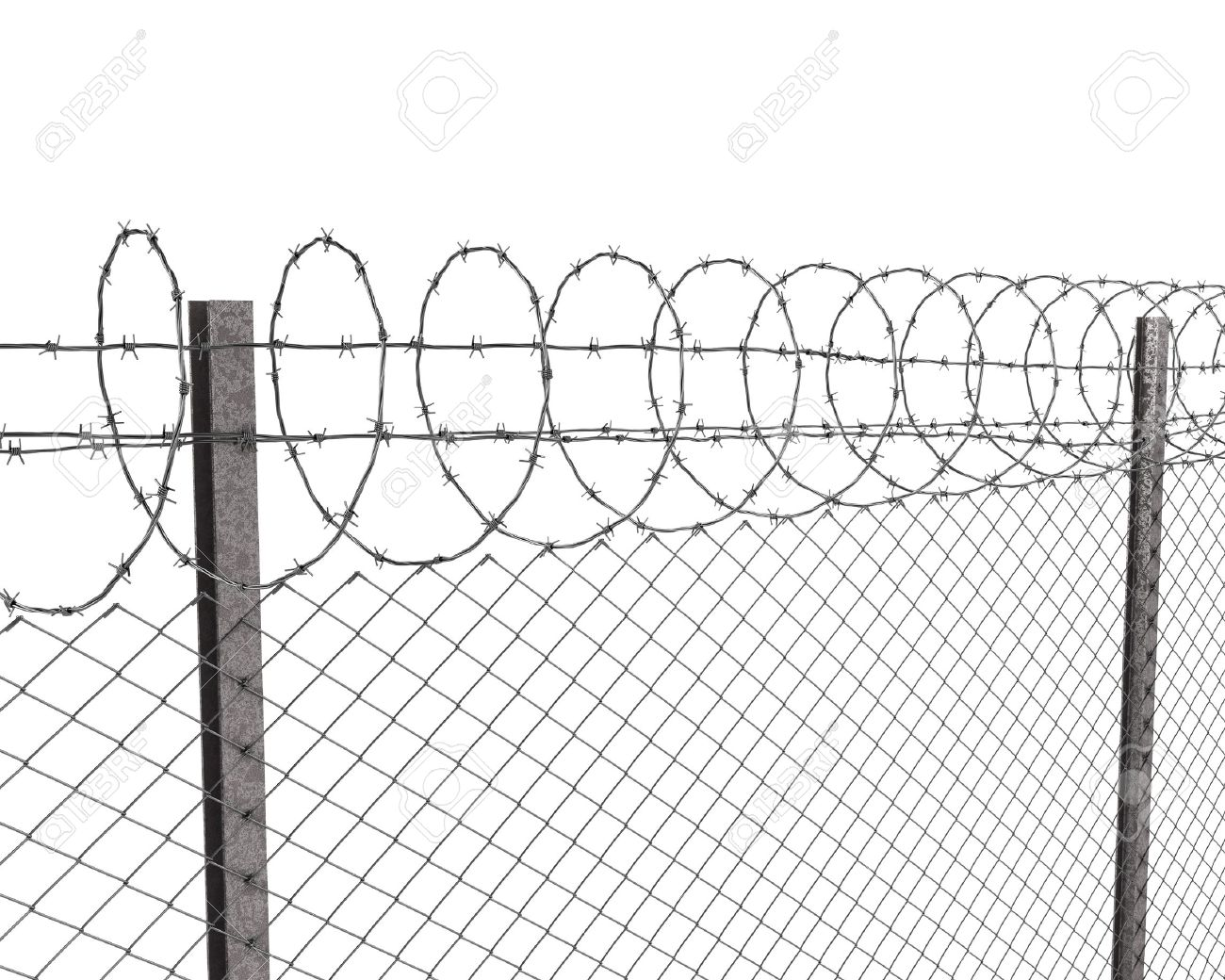 Wire clipart fencing wire 228KB white fence Fence:Chainlink 1300x1040