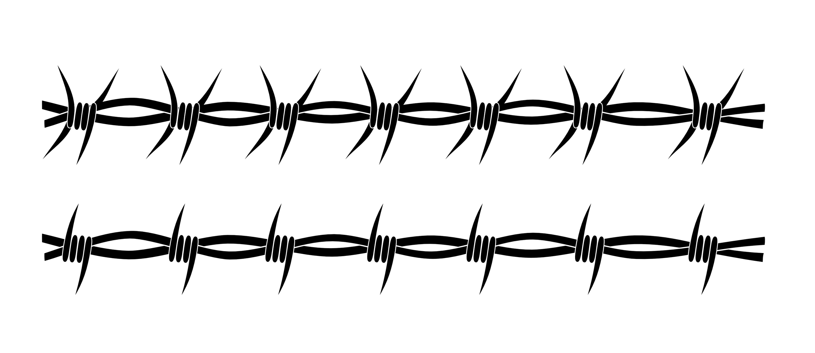 Wire clipart cartoon Barbed Clip Collection m fence