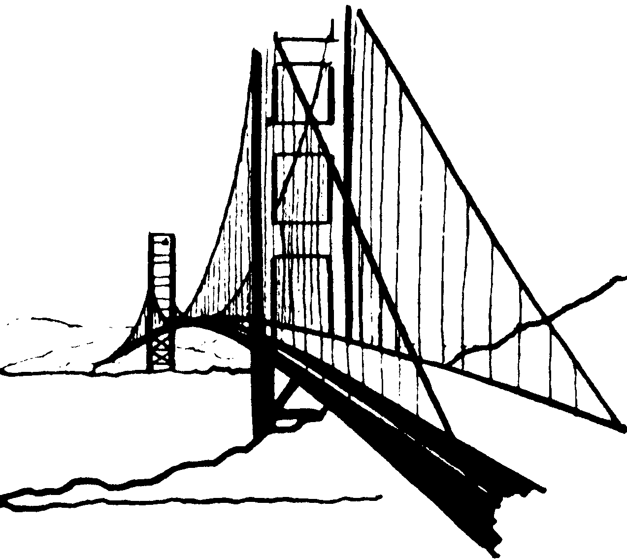 Broken Bridge clipart black and white Free Gate gate%20clipart%20black%20and%20white White Panda
