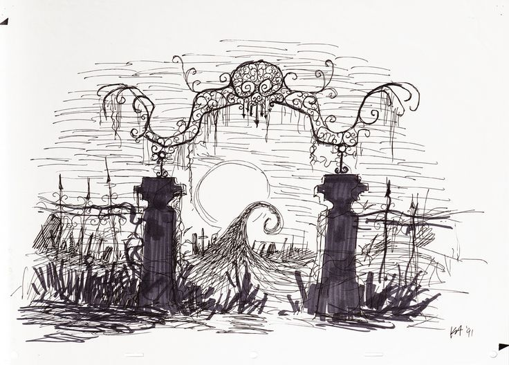 Gate clipart cemetery gates Images best Tattoo Christmas about