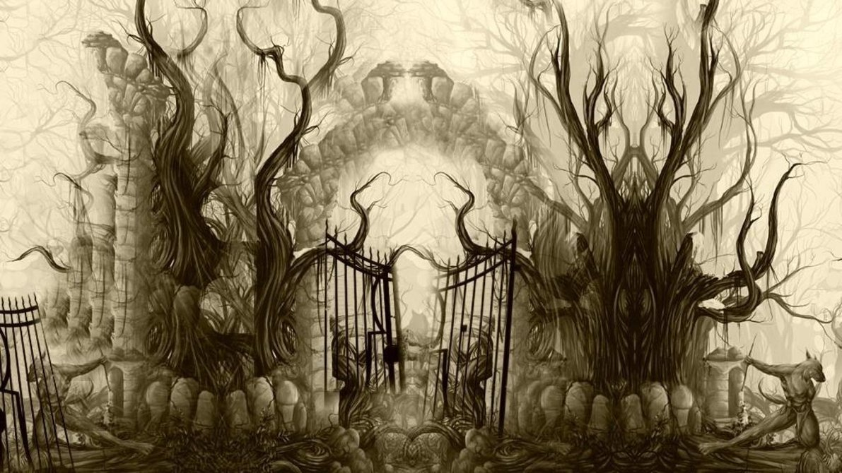 Gate clipart cemetery gates Pinterest ШИПОВНИК by by Cemetery