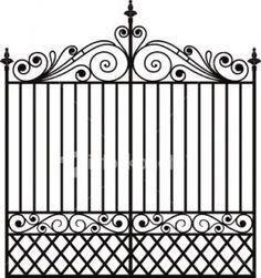 Gate clipart charleston sc Wrought  write wrought iron