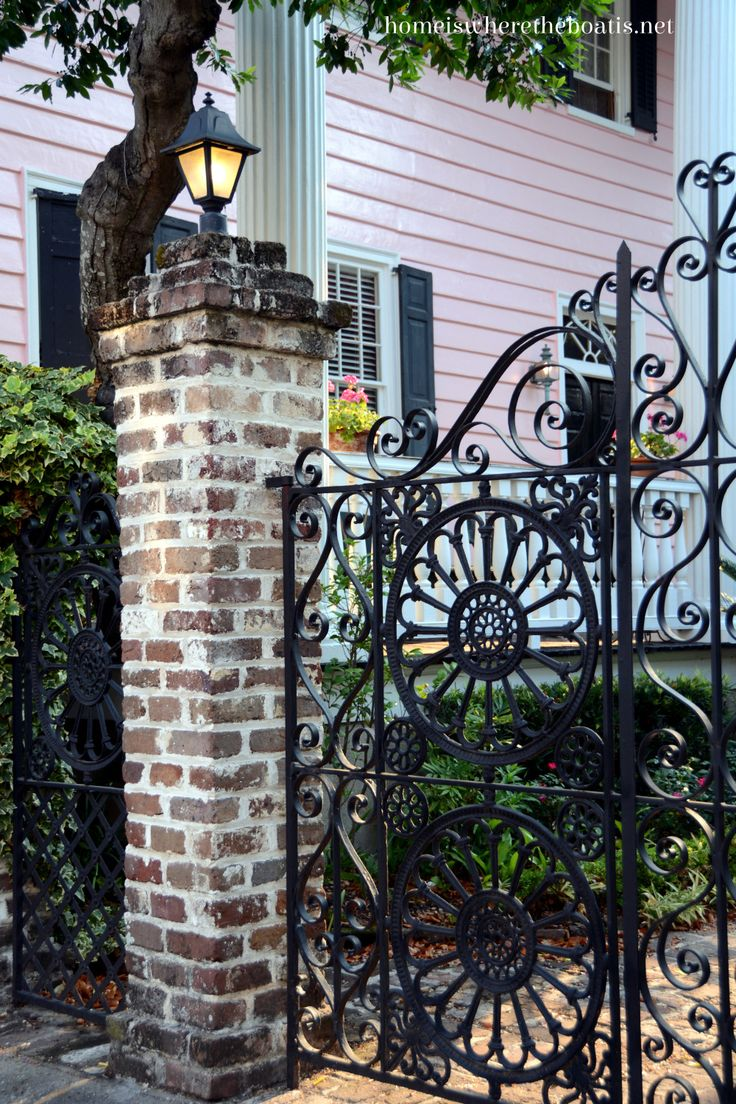 Gate clipart charleston sc Charleston best images on Iron