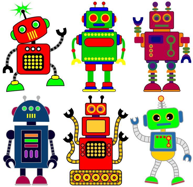 Robot clipart generic #2