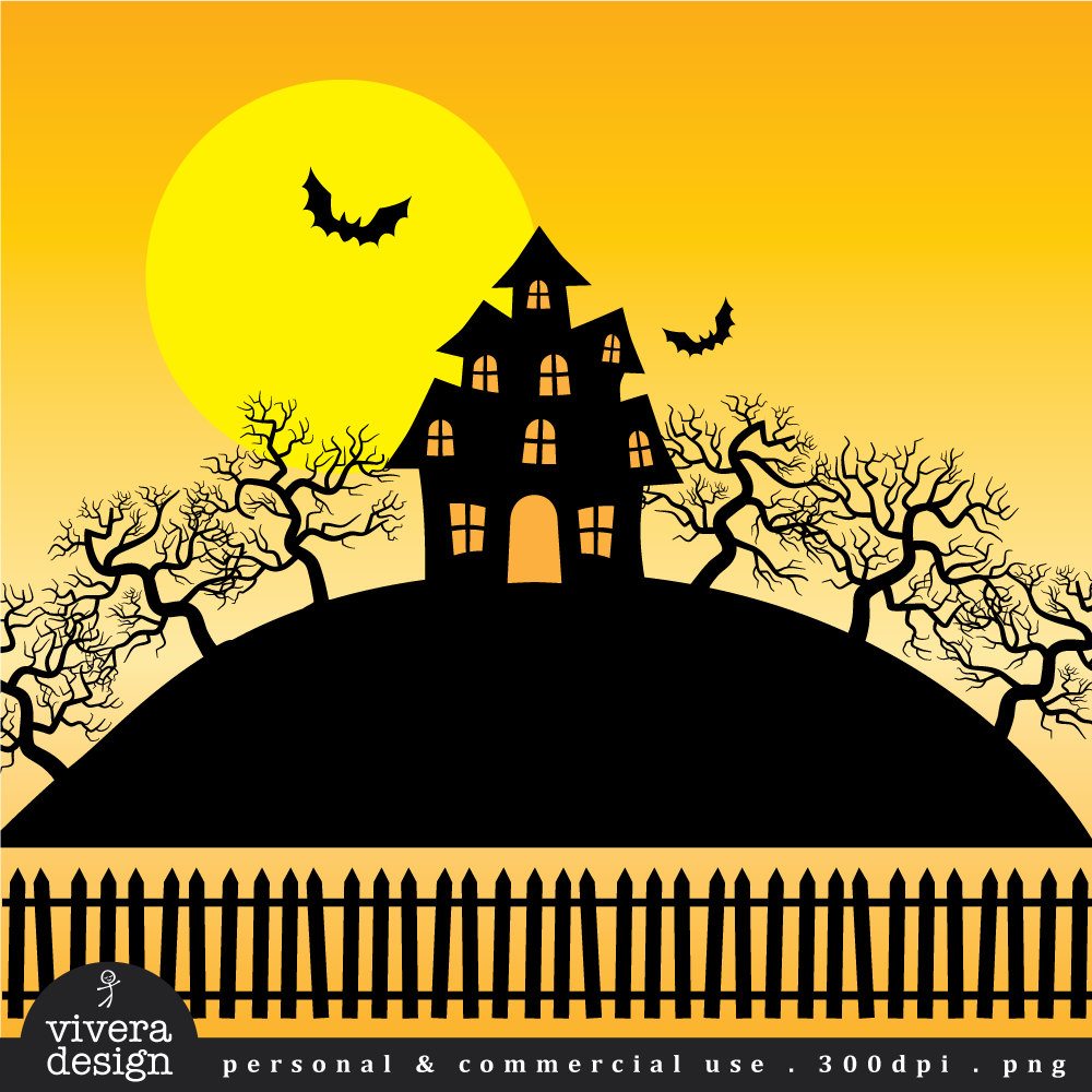Haunted clipart eerie Item? Art Creepy Like Trees