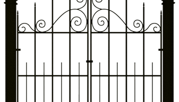 Spooky clipart fence Candle Clipart Gate Creepy Spooky
