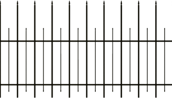 Spooky clipart fence Candle Clipart Fence Creepy Spooky