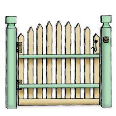 Gate clipart cute Clipart Free Gate Clipart gate%20clipart