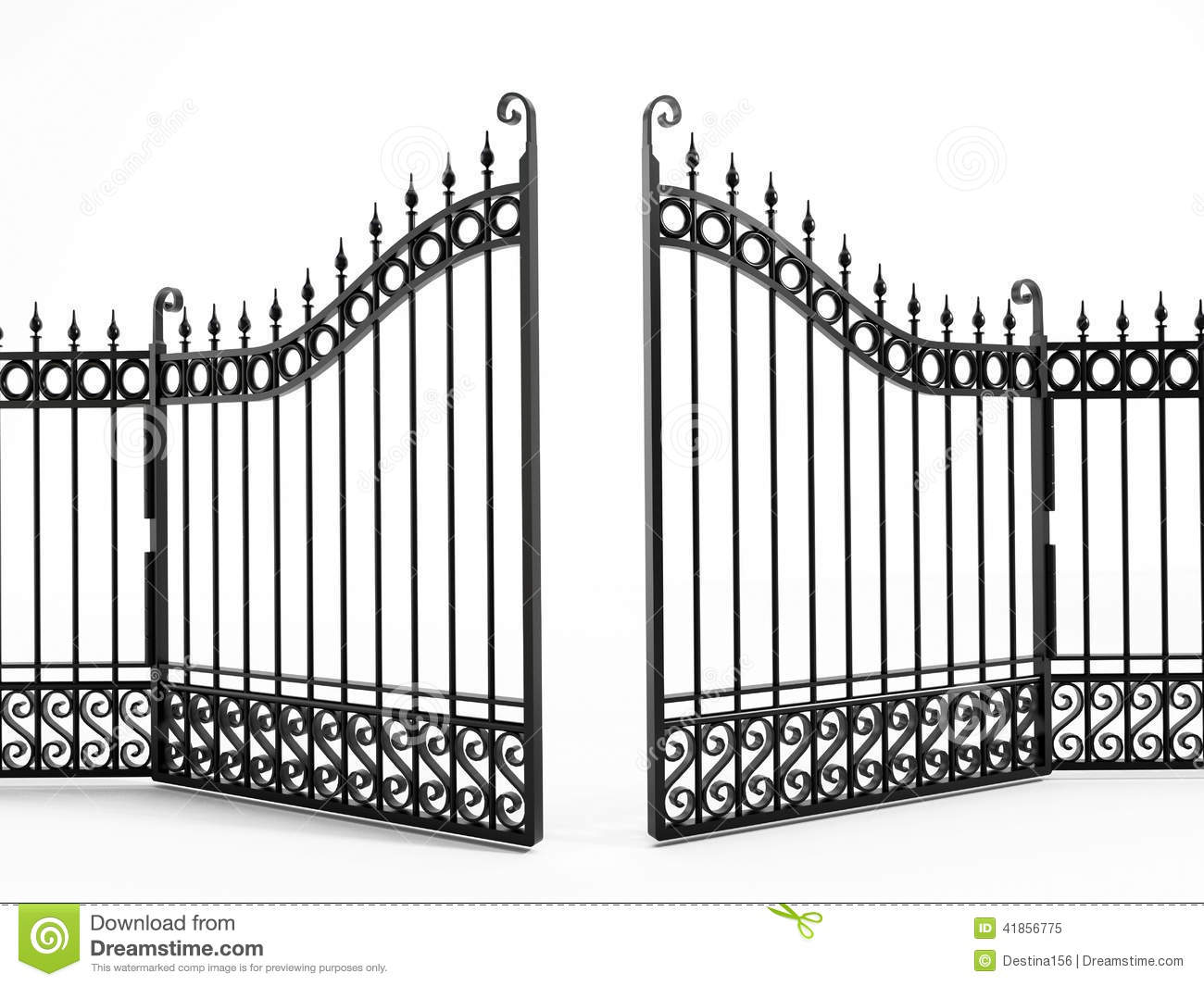 Heaven clipart gates opening + open Clipart Fancy clipart